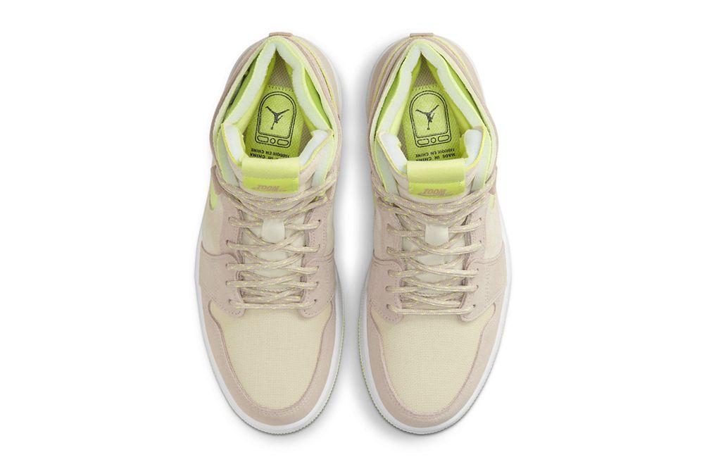Lemon Twist Air Jordan 1 inner