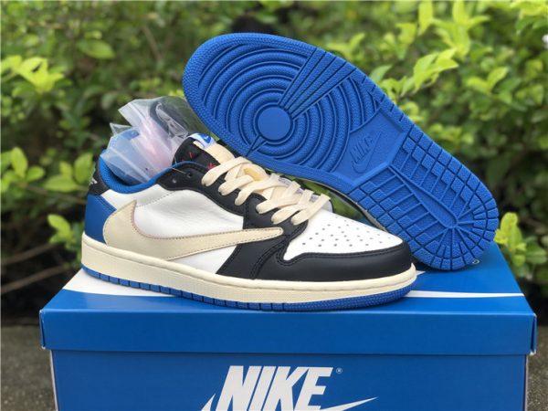 Travis Scott Fragment Air Jordan 1 Low sneaker