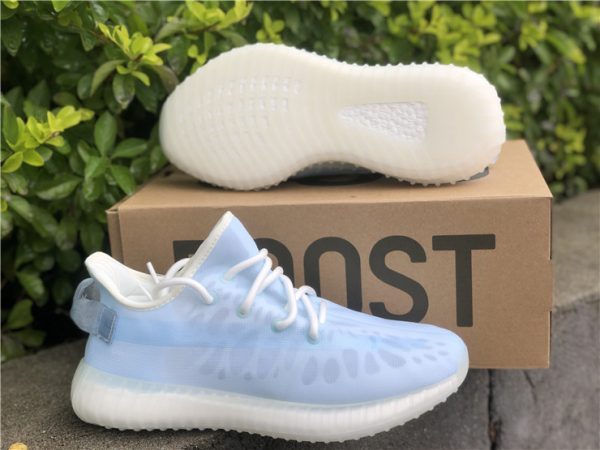 adidas Yeezy Boost 350 V2 Mono Ice Pack shoes
