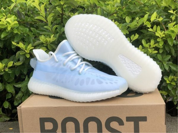 adidas Yeezy Boost 350 V2 Mono Ice Pack underfoot
