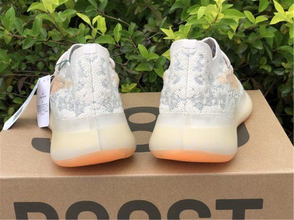 adidas Yeezy Boost 380 Yecoraite Reflective heel look