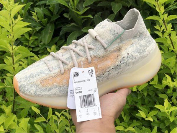 adidas Yeezy Boost 380 Yecoraite Reflective on hand look