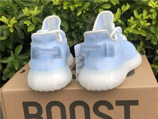 back heel adidas Yeezy Boost 350 V2 Mono Ice Pack