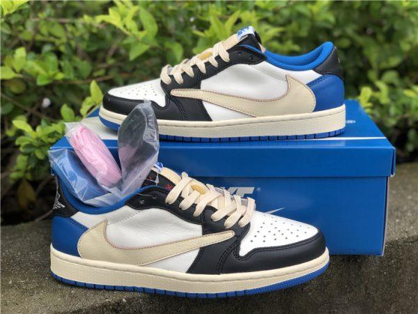 shop Travis Scott Fragment Air Jordan 1 Low