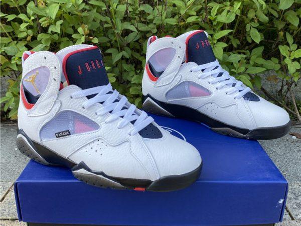 Air Jordan 7 PSG back heel 2021