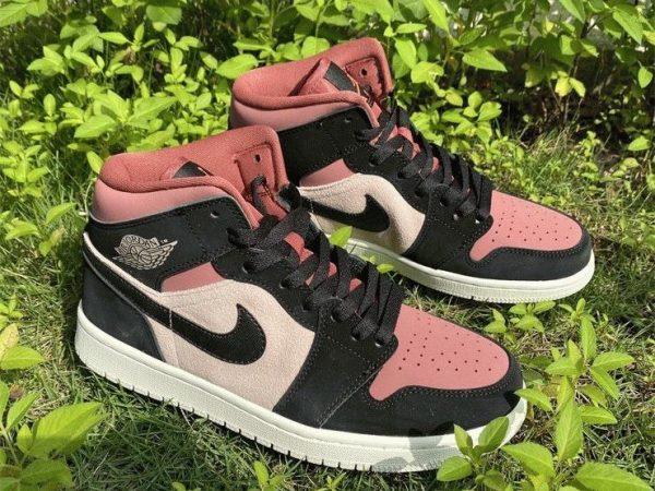 Air Jordan 1 Mid Canyon Rust 2021 shoes