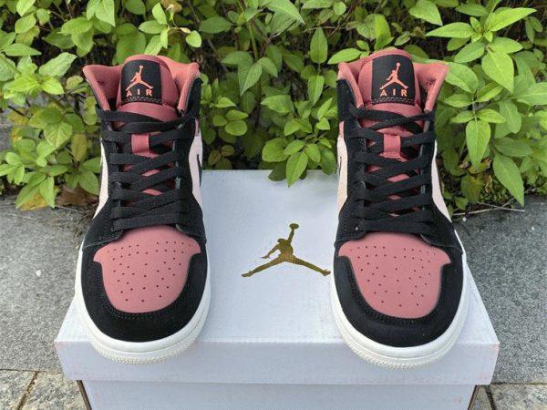 Air Jordan 1 Mid Canyon Rust 2021 tongue