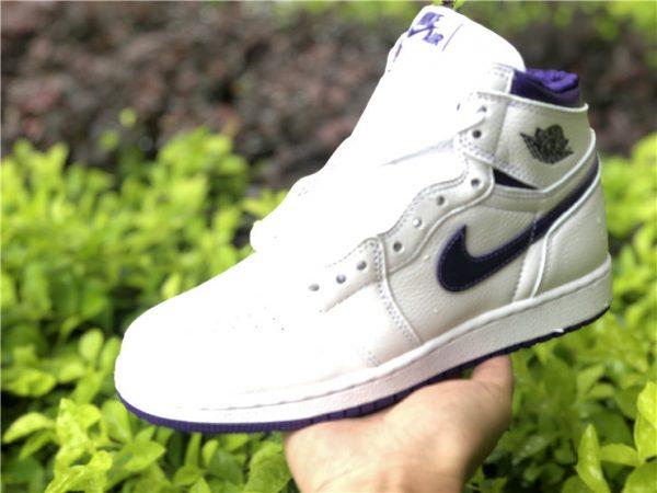 Air Jordan 1 Retro High Court Purple on hand