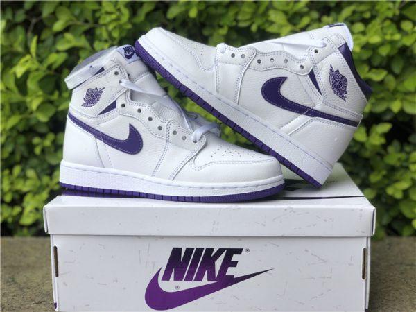 Air Jordan 1 Retro High Court Purple overall