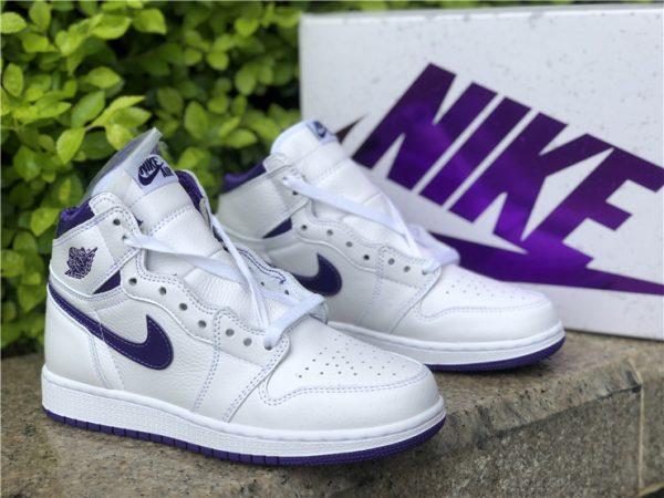 Air Jordan 1 Retro High Court Purple shoes