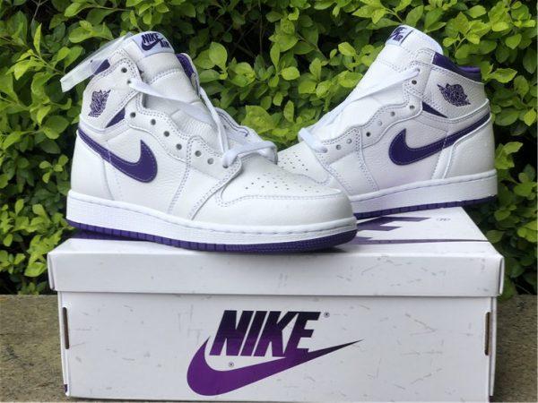 Air Jordan 1 Retro High Court Purple sneaker