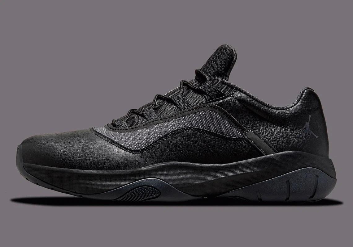 Triple Black Color Appears on The Air Jordan 11 CMFT Low