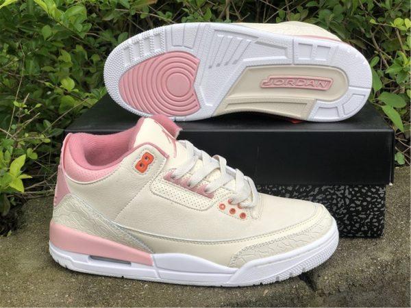 Air Jordan 3 Retro Sail And Rust Pink shoe