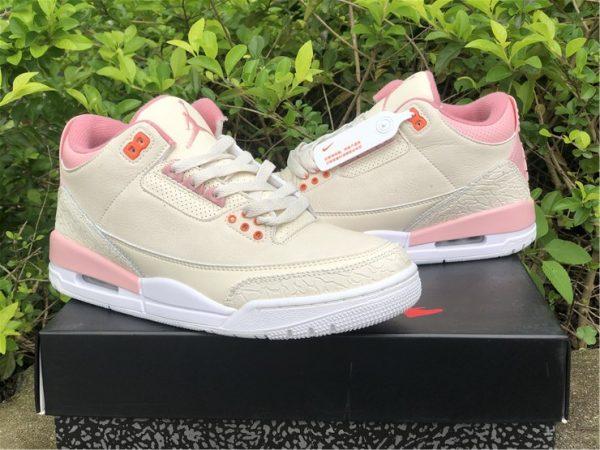 Air Jordan 3 Retro Sail And Rust Pink sneaker