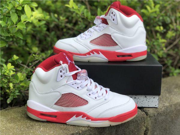Air Jordan 5 Pink Foam cloase look