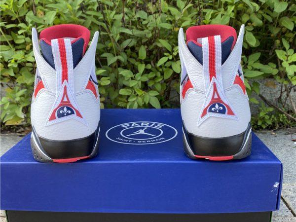 Air Jordan 7 PSG back heel look