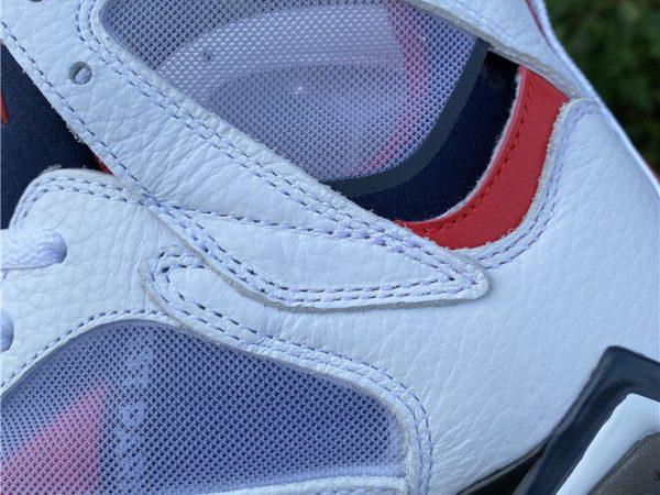 Air Jordan 7 PSG transparent uppers look