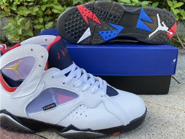 Air Jordan 7 PSG underfoot