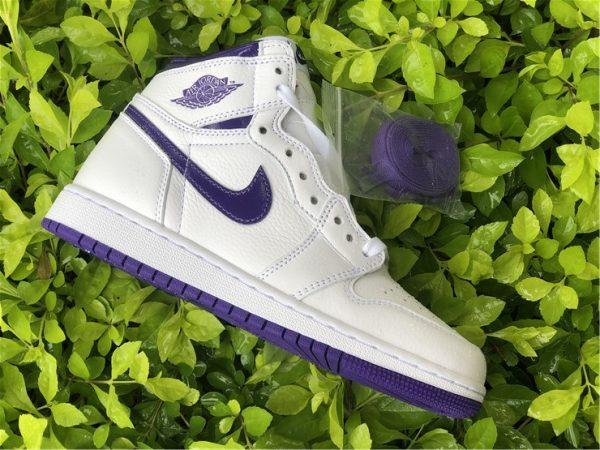 Jordan 1 Court Purple SWOOSH