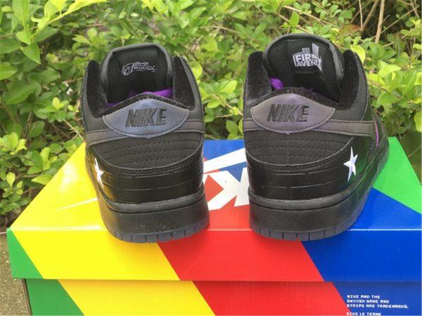 Nike SB Dunk Low Familia First Avenue Purple back heel