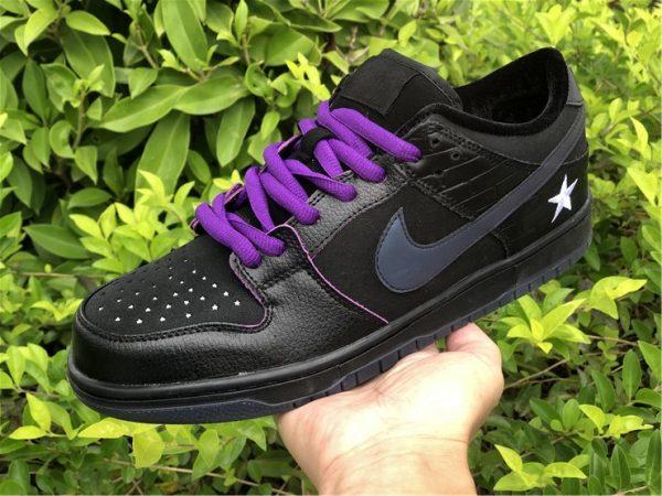 Nike SB Dunk Low Familia First Avenue Purple on hand