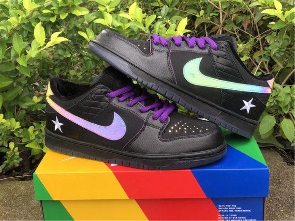Nike SB Dunk Low Familia First Avenue Purple shoes