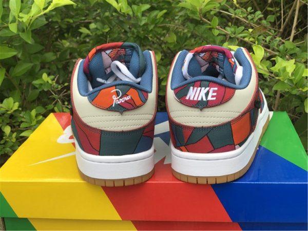 Piet Parra x Nike SB Dunk Low heel