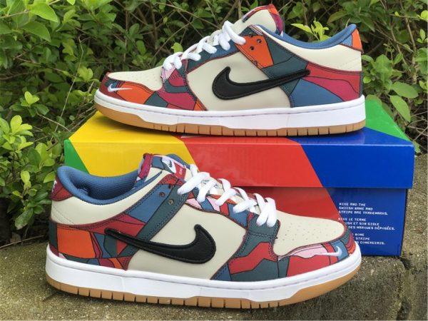 Piet Parra x Nike SB Dunk Low shoes