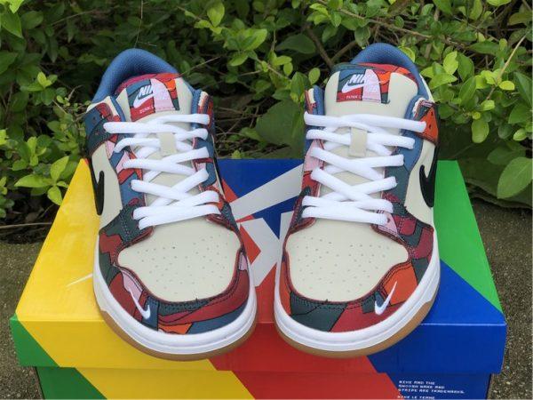 Piet Parra x Nike SB Dunk Low white shoelace