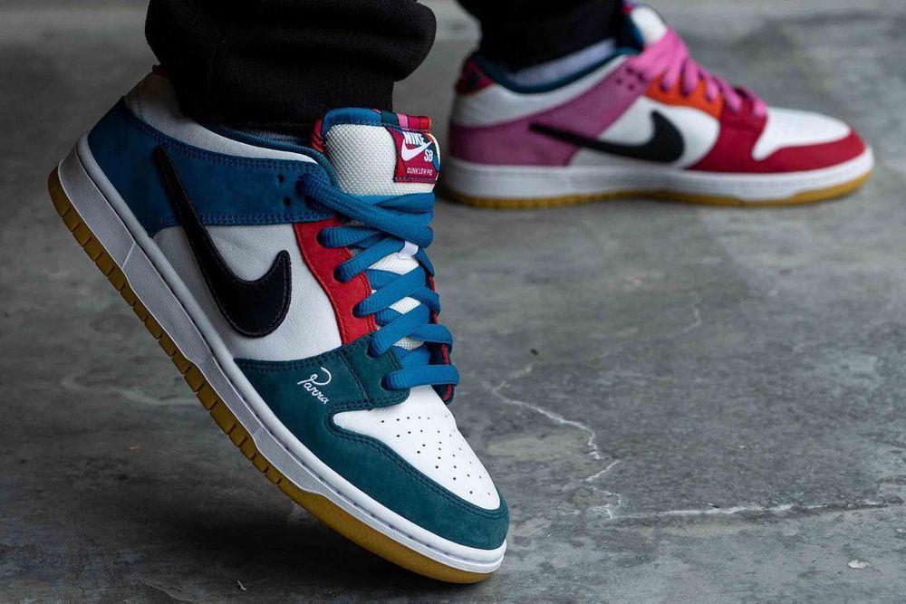 jordansupdate.com_Parra Nike SB Dunk Low on feet