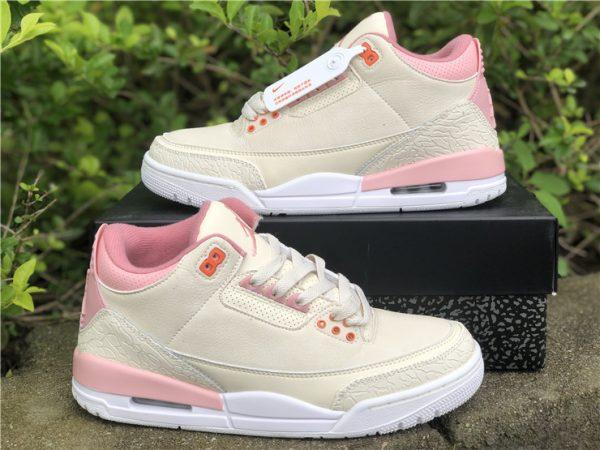 shop Air Jordan 3 Retro Sail And Rust Pink