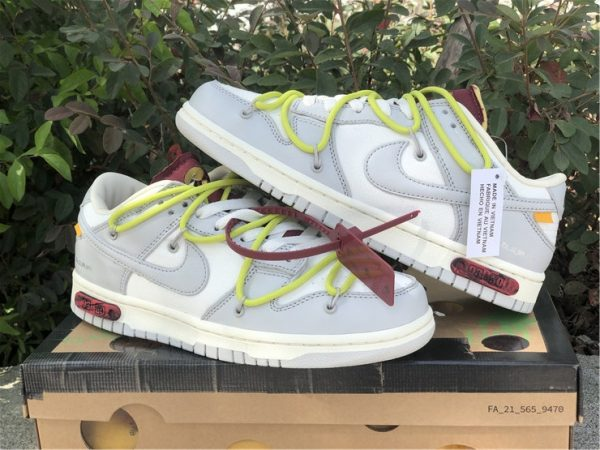 2021 Off-White x Nike Dunk Low The 03 of 50