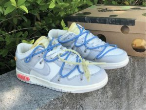 2021 Off-White x Nike Dunk Low The 50 of 05 Grey Blue