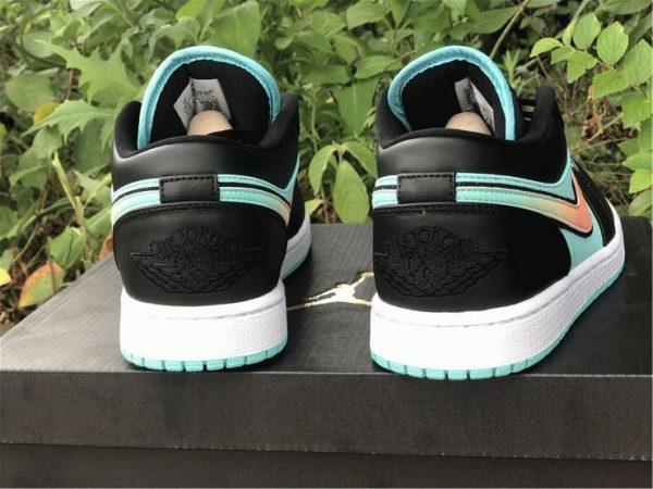 Air Jordan 1 Low SE Tropical Twist back hee