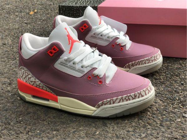 Air Jordan 3 Rust Pink overall