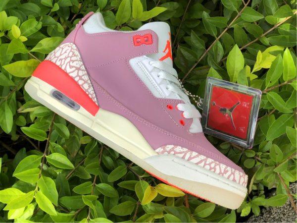 Air Jordan 3 Rust Pink panling