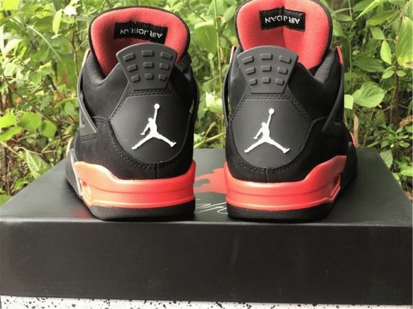 Air Jordan 4 Red Thunder 2021 heel