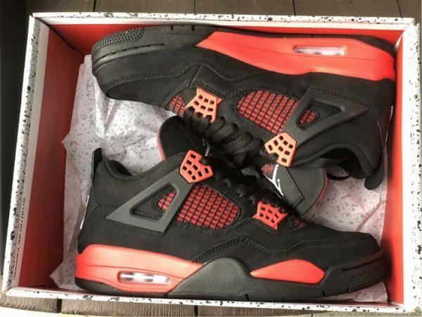 Air Jordan 4 Red Thunder 2021 in box