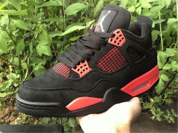 Air Jordan 4 Red Thunder 2021 on hand