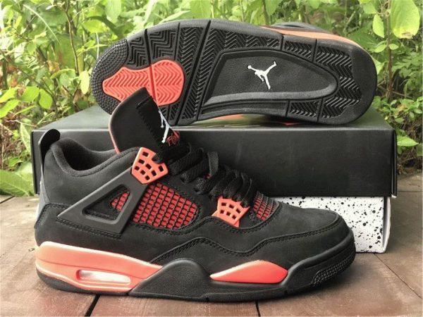 Air Jordan 4 Red Thunder black 2021