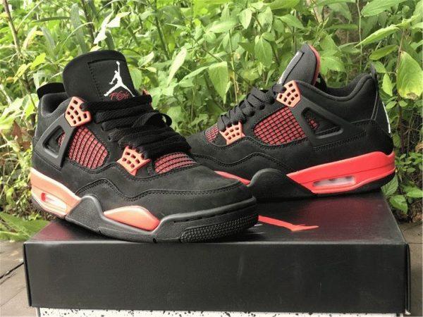 Air Jordan 4 Red Thunder black