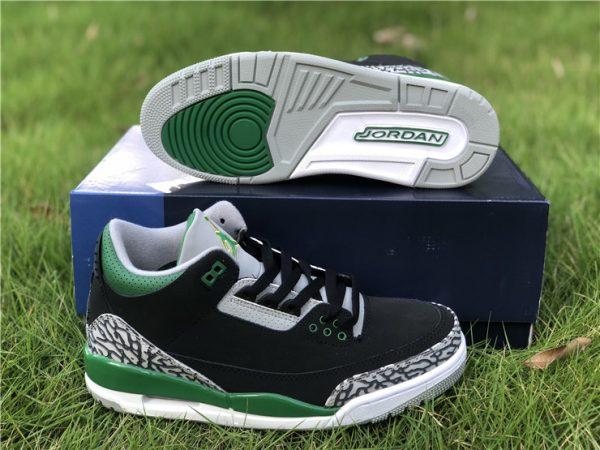 Air Jordan III Pine Green Sneaker
