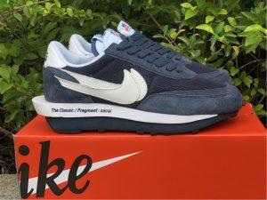 Fragment x Sacai x Nike LDWaffle Blue Void Obsidian