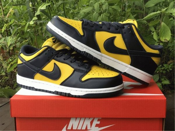 Nike Dunk Low Michigan Varsity Maize Navy for sale