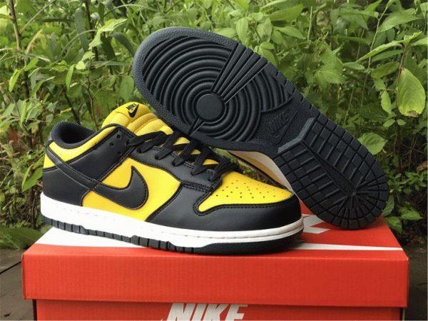 Nike Dunk Low Michigan Varsity Maize Navy shoes