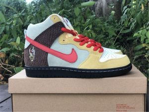 Nike SB Dunk High Color Skates Kebab and Destroy