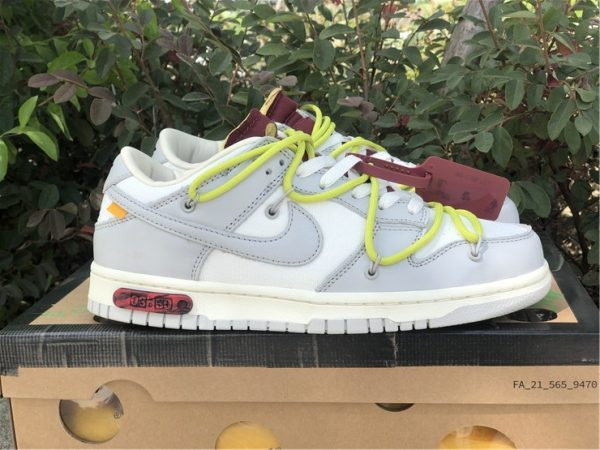 Off-White x Nike Dunk Low The 03 of 50