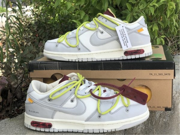 Off-White x Nike Dunk Low The 03 of 50 Turnschuhe