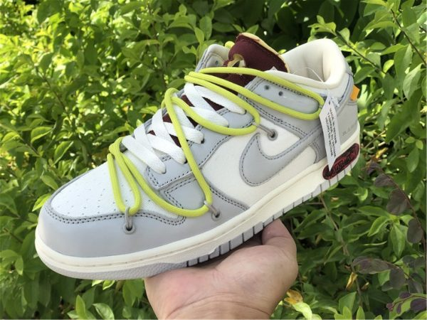 Off-White x Nike Dunk Low The 03 of 50 on hand