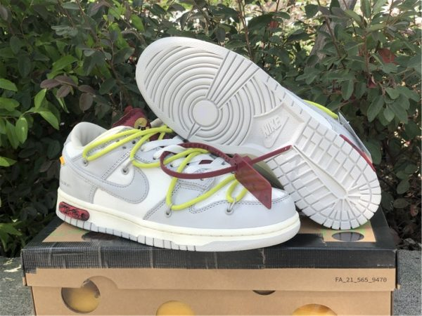 Off-White x Nike Dunk Low The 03 of 50 sneaker